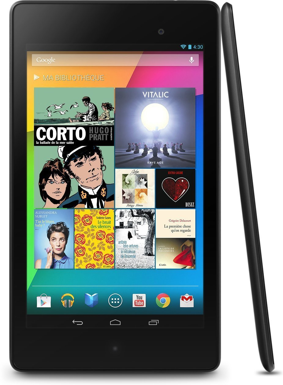 google nexus 7 tablette