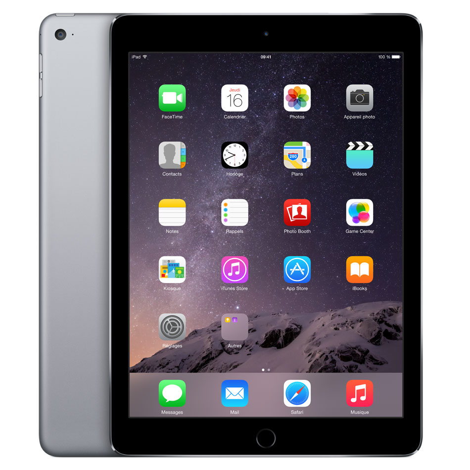 test et avis sur l 39 ipad air 2 la version 2 une. Black Bedroom Furniture Sets. Home Design Ideas